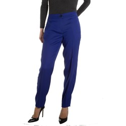 Abbigliamento Donna Pantaloni Emme Marella ATRMPN-19180 Blu