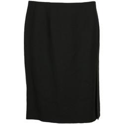 Abbigliamento Donna Gonne Paul Smith Jupe courte droite laine Nero