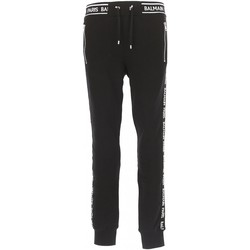 Abbigliamento Uomo Pantaloni da tuta Balmain streetwear RH15631 - Uomo nero