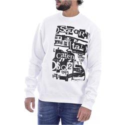 Abbigliamento Uomo Felpe Dsquared Felpas S74GU0305 - Uomo bianco