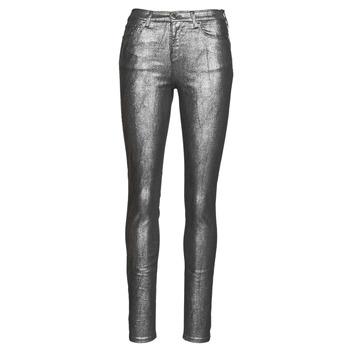 Abbigliamento Donna Pantaloni 5 tasche Emporio Armani 6H2J20 Grigio / Argento
