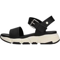 Scarpe Bambina Sandali Gioseppo - Sandalo nero KATIHAR NERO