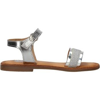 Scarpe Bambina Sandali Gioseppo - Sandalo argento NADIAD ARGENTO