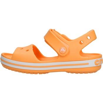Scarpe Unisex bambino Sandali Crocs - Crocband sand k arancione 12856-801 ARANCIONE