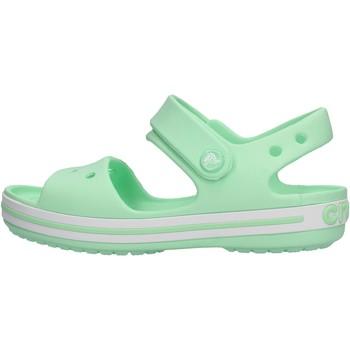 Scarpe Unisex bambino Sandali Crocs - Crocband sand k verde 12856-3TI VERDE