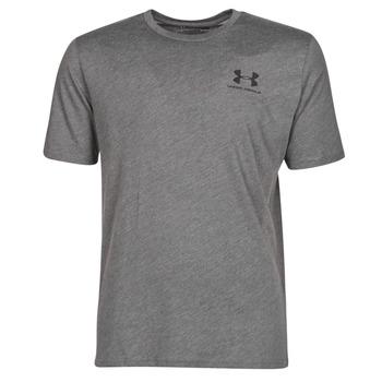 Abbigliamento Uomo T-shirt maniche corte Under Armour SPORTSTYLE LEFT CHEST SS Grigio
