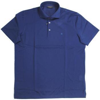Abbigliamento Uomo Polo maniche corte Ferrante ATRMPN-19209 Blu