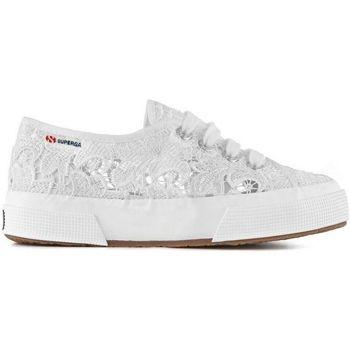 Scarpe Bambina Sneakers basse Superga 2750 MACRAMEJ Bianco
