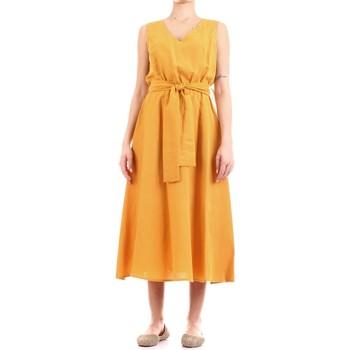 Abbigliamento Donna Abiti lunghi Fly Girl 9890-02 Giallo