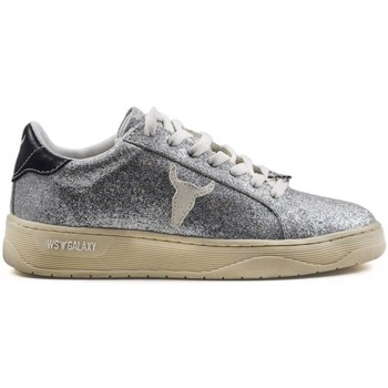 Scarpe Donna Sneakers basse Windsor Smith GALAXY SILVER ARGENTO