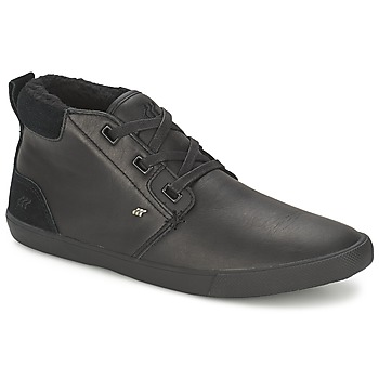 Scarpe Uomo Sneakers alte Boxfresh SKELT FUR LEATHER Nero