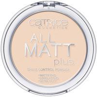 Bellezza Donna Blush & cipria Catrice All Matt Plus Shine Control Powder 010-transparent 10 Gr