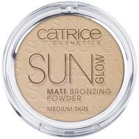 Bellezza Donna Blush & cipria Catrice Sun Glow Matt Bronzing Powder 030-medium Bronze 9,5 Gr 9,5 g
