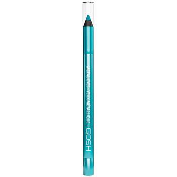 Bellezza Donna Matia per occhi Gosh Metal Eyes Waterproof Eyeliner 005-turquoise 1,2 Gr 1,2 g