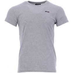 Abbigliamento Uomo T-shirt maniche corte Schott TSCREW.EMB Grigio