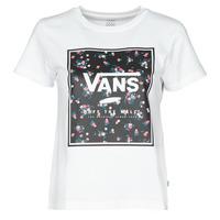 Abbigliamento Donna T-shirt maniche corte Vans BOXED IN BOXY Bianco