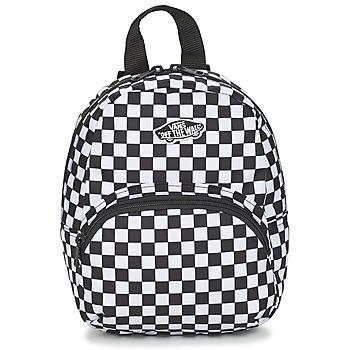 Borse Zaini Vans GOT THIS MINI BACKPACK Black / White / Checkerboard