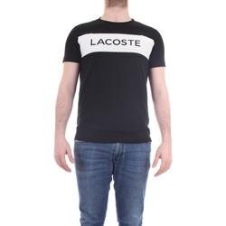 Abbigliamento Uomo T-shirt maniche corte Lacoste TH4865-00 T-Shirt Uomo royal royal