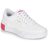 Scarpe Bambina Sneakers basse Puma CALI JR Bianco / Rosa