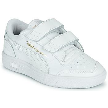 Scarpe Unisex bambino Sneakers basse Puma RALPH SAMPSON LO PS Bianco
