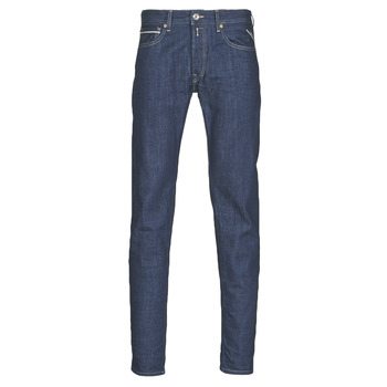 Abbigliamento Uomo Jeans dritti Replay GROVER Blu / Scuro