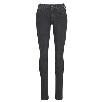 Abbigliamento Donna Jeans slim Replay LUZ / HYPERFLEX / RE-USED Nero