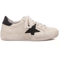 Scarpe Unisex bambino Sneakers basse Ciao Sneakers Bassa Bambini Bianco C4732 bianco, nero