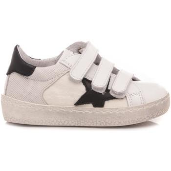 Scarpe Unisex bambino Sneakers basse Ciao Sneakers Bassa Bambini Bianco C2712 bianco, nero
