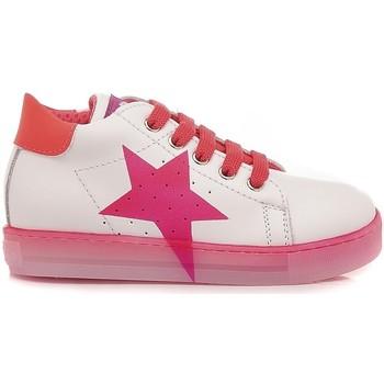 Scarpe Bambina Sneakers basse Falcotto Sneakers Bambina Venus Bianco - Rosa bianco, rosa