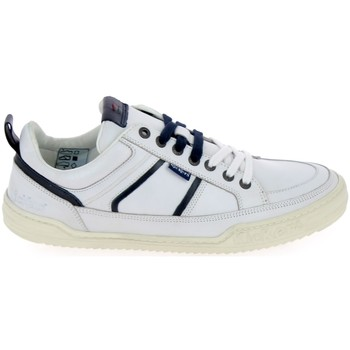 Scarpe Sneakers basse Kickers Jazz Blanc Bianco