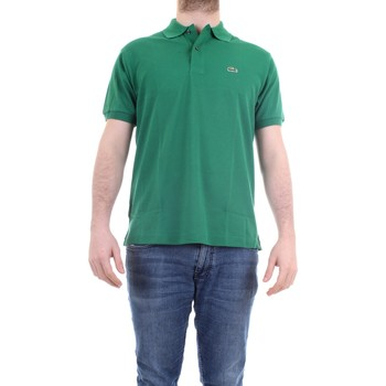 Abbigliamento Uomo Polo maniche corte Lacoste L.12.12 Polo Uomo Verde Verde