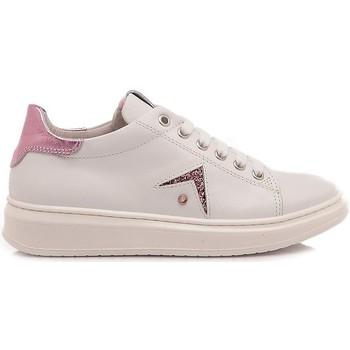 Scarpe Bambina Sneakers basse Chiara Luciani Chiara Luciani Sneakers Bambina 106 Bianco-Rosa bianco, rosa