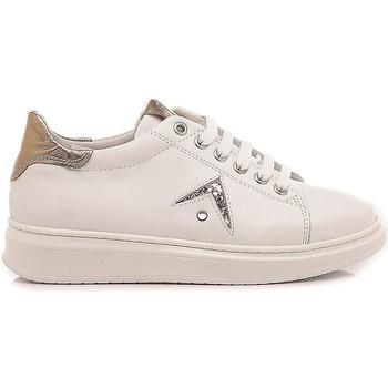 Scarpe Bambina Sneakers basse Chiara Luciani Chiara Luciani Sneakers Bambina 106 Bianco-Oro bianco, oro