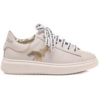 Scarpe Bambina Sneakers basse Patrizia Pepe Sneakers Bambina PPJ15 Bianco-Platino bianco, platino