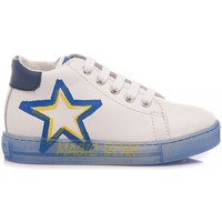 Scarpe Bambino Sneakers basse Falcotto Sneakers Bambino Nedo Bianco - Azzurro bianco, azzurro