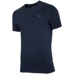 Abbigliamento Uomo T-shirt maniche corte 4F TSM003 Nero