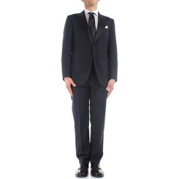 Abbigliamento Uomo Completi Kiton K06S79/05 Blu