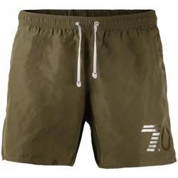 Abbigliamento Uomo Shorts / Bermuda Emporio Armani EA7 Costume  Uomo pantaloncino 902000 7P732 military green Verde