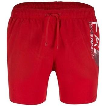 Abbigliamento Uomo Costume / Bermuda da spiaggia Emporio Armani EA7 Costume  902000 8P738 Uomo Rosso Rosso