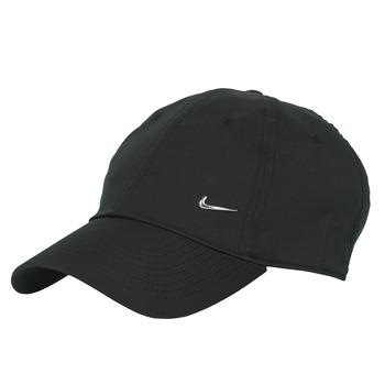 Accessori Cappellini Nike U NSW H86 METAL SWOOSH CAP Nero / Argento