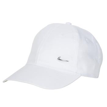 Accessori Cappellini Nike U NSW H86 METAL SWOOSH CAP Bianco / Argento