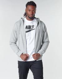 Abbigliamento Uomo Felpe Nike M NSW CLUB HOODIE FZ BB Grigio