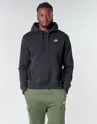 Abbigliamento Uomo Felpe Nike M NSW CLUB HOODIE PO BB Nero / Bianco