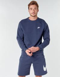Abbigliamento Uomo Felpe Nike M NSW CLUB CRW BB Blu