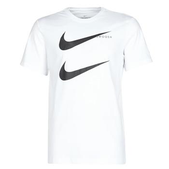 Abbigliamento Uomo T-shirt maniche corte Nike M NSW SS TEE SWOOSH PK 2 Bianco