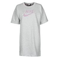 Abbigliamento Donna Abiti corti Nike W NSW DRESS FT M2Z Grigio