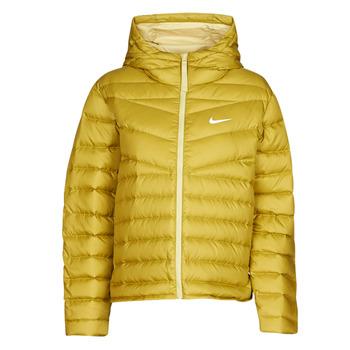 Abbigliamento Donna Piumini Nike W NSW WR LT WT DWN JKT Kaki