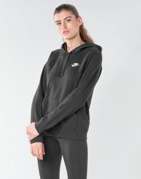 Abbigliamento Donna Felpe Nike W NSW ESSNTL HOODIE PO FLC Nero