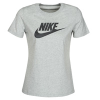 Abbigliamento Donna T-shirt maniche corte Nike W NSW TEE ESSNTL ICON FUTUR Grigio
