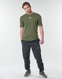 Abbigliamento Uomo Pantaloni da tuta Nike M NK RUN STRIPE WOVEN PANT Nero